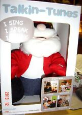 New Talkin Tunes Santa Battery Interactive Speaks Sway Sings Smart Phone Tablet