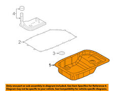 GM OEM-Transmission Tranny Oil Pan 24222657
