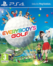 Everybody's Golf (PS4)  BRAND NEW AND SEALED - IN STOCK - QUICK DISPATCH