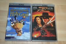 Monty Python And The Holy Grail & The Legend of Zorro Movie Lot UMD For PSP