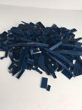 Dark Blue Lego Bricks And More! (Over 10 Ounces)