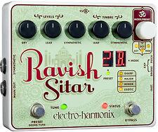 Electro-Harmonix Ravish Sitar Emulator Guitar Effects Pedal