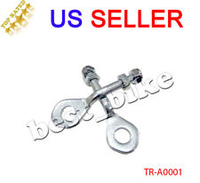 "Atv Chain Axle adjuster Tensioner 50 70 90 110 125 cc 0.4"" Taotao Peace Sunl"