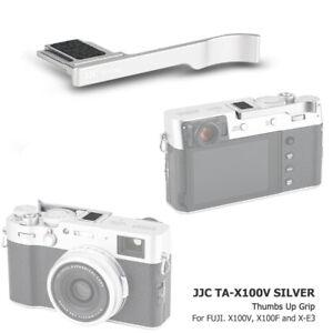 JJC Metal Thumbs Thumb Up Grip Hand Holder Hot Shoe fr Fujifilm X100V X100F X-E3