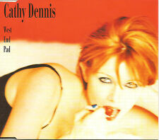 CATHY DENNIS West End Pad w/ 2 UNRELEASED & ACOUSTIC CD Single USA Seller SEALED
