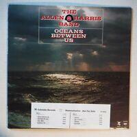 """ALLEN HARRIS BAND–OCEANS BETWEEN US–12"""" 33 RPM VINYL PROMO–COLUMBIA 35364-INSERT"""