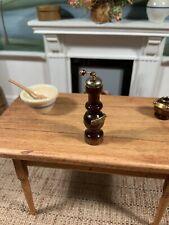 Dollhouse Miniature Artisan Signed Pepper Grinder