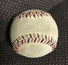 Vintage 1920/30s Red & Black Stitched Soft Playground Baseball Rare