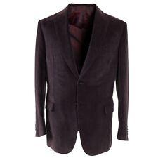 NWT $4495 BRIONI 'Brunico' Soft Cotton-Cashmere Corduroy Sport Coat 40 R