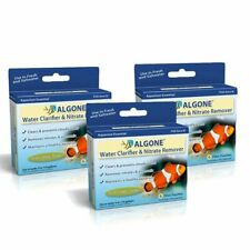 New listing Algone Aquarium Water Clarifier and Nitrate Remover, 18 Filter Pouches 3 Package