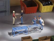 Auhagen 41643 3 Werkbänke zur Werkstattausrüstung oder Baustelle Bausatz H0 Neu