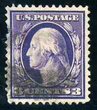 US # 376 USED  -  SUPERB CENTERING WITH FACE FREE CANCEL