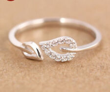 NEW 2018 Silver or Gold Toe Ring Leaf Fashion Adjustable Loving Heart CDN SELLER