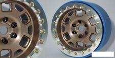 "SSD 2.2"" Contender PL Beadlock Wheels BRONZE SSD00314 Gold ProLine Silver Bead"
