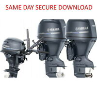 Yamaha Outboard Service Manual (25J 30D 25X 30X) | 1998-2004  FAST ACCESS
