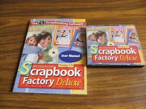 New Art Explosion Scrapbook Factory Deluxe Version 3.0 Scrapbooking Software