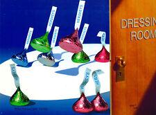 Hershey Chocolate Candy Kisses Kiss Bunny Hop Art Ad Print Hersheys Cel UF