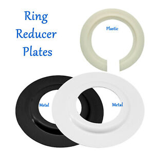 Metal/Plastic Lamp Shade Ring Reducer Plate Light Fitting Ring Washer Adapter UK