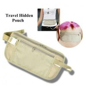 Hidden Travel Wallet Holiday Vacation Luggage Essential  Multicolour Waterproof