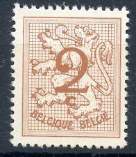STAMP / TIMBRE DE BELGIQUE N° 1026A ** LION HERALDIQUE