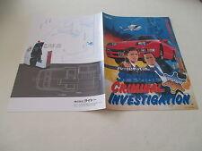 >> SCI S.C.I. TAITO ARCADE ORIGINAL JAPAN HANDBILL FLYER CHIRASHI! <<