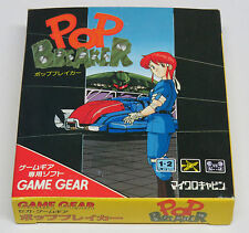 Pop Breaker Game Gear Japan JPN Japanese * BRAND NEW * Quality Shipping