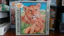 New Sealed Studio Puzzle Mother Lion Bits and Pieces Jigsaw 500 pieces