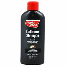 1x Triple Eight Caffiene Shampoo 250ml For All Hair Types Choose Pack Size