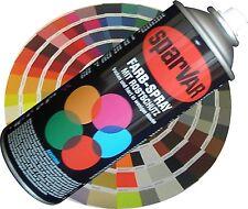 Lackspray MATT 400ml Sparvar (RAL1001-6031) Spraylack Acryl Sprühlack Mattlack