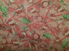 Crafts Quilt Fabric Sewing P & B Dottie's Sweet Shop  ((00504)  BTY