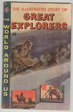 World Around Us #23 July 1960 Vg Great Explorers