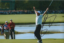 Paul McGINLEY SIGNED AUTOGRAPH 12x8 Photo AFTAL COA Ryder Cup 2002 Winning PUTT
