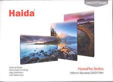 Haida NanoPro 100mm 150mm MC Reverse Grad ND 0.9 3 Stop Optical Glass Filter ND8