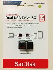 SanDisk OTG Ultra Dual USB3.0 SDDD2-064G 64GB 150MB/s for Android smartphone