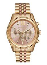 Michael Kors Men's MK6473 Lexington Rose gold / Gold tone stainless steel watch