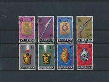 LN89415 St Helena artefacts royal militia fine lot MNH