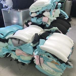 Foam off cuts scrap bale 10kgs upholstery foam for crafting, packaging, diy