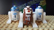 LEGO® Star Wars™ R7-D4  R2-D2 droid minifig - Lego 8093 (lot of 3)