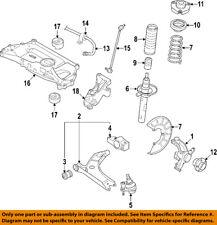 VW VOLKSWAGEN OEM 05-10 Jetta Front Suspension-Coil Spring 1K0411105BK