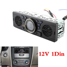1 Din Car MP3 Radio Audio Player Built-in 2 Speaker Stereo USB SD FM Bluetooth