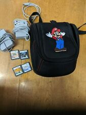 Nintendo 3ds items 2chargers 4games carry bag. All in excellent condition.