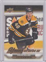 2015 Upper Deck UD Canvas C103 Young Guns Colin Miller Boston Bruins