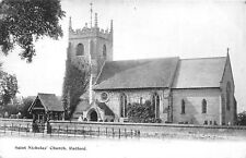 POSTCARD    WARKS   RADFORD   Saint  Nicholas'  Church