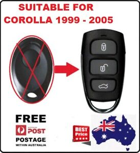 REMOTE Fob Suitable for TOYOTA COROLLA 1999 2000 2001 2002 2003 2004 2005 2006