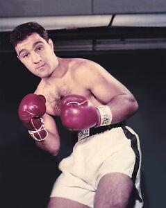 ROCKY MARCIANO Glossy 8x10 Photo Boxing Print Heavyweight Poster Champion Boxer