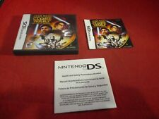 Star Wars Clone Wars Republic Heroes Nintendo DS Empty Case &Manual ONLY no game