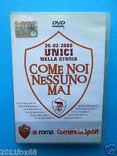 as roma 2006 come noi nessuno mai rome roma francesco totti montella rare dvd gq