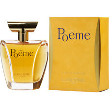 POEME 100ml EDP SPRAY FOR WOMEN BY LANCOME ------------------------- NEW PERFUME