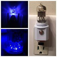 6AK5 6AL5 Style Vintage Vacuum Tube Blue LED Night Light Guitar TV Ham Radio