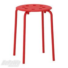 IKEA Marius Hocker In rot stapelbar (45cm) Sitzhocker